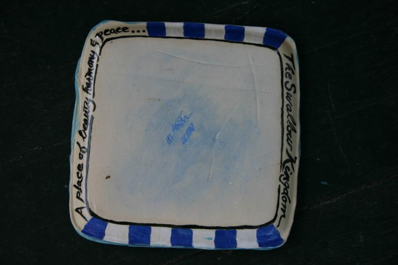 Swalloware Square Plate #13